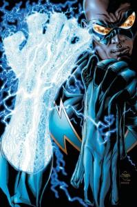 Black Lightning - electric hand