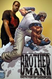 Brotherman with creator